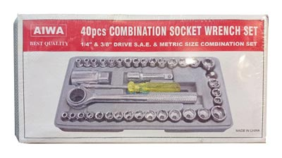 مجموعه ۴۰ عددی آچار بکس و دسته آچار آیوا مدل G 680