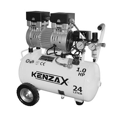 کمپرسور باد 24 لیتری سایلنت کنزاکس مدل KACS-124