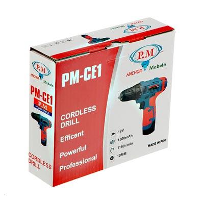دریل پیچ گوشتی شارژی آنکور مدل PM-CE1