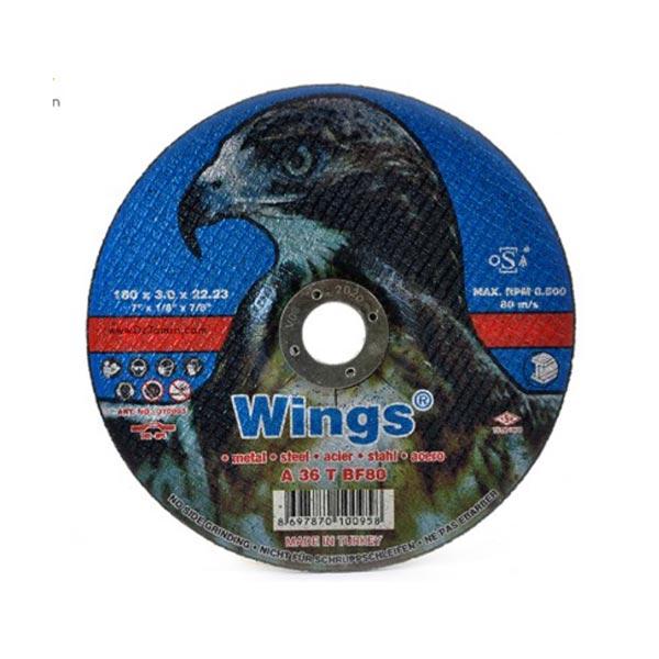 صفحه سنگ برش 180 عقاب wings ترکیه